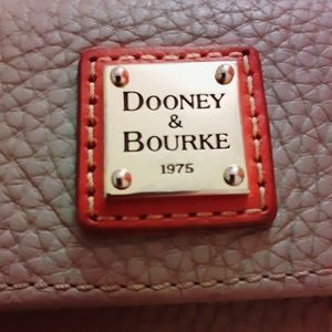 TDOONEY AND BOURKE PEBBLED LEATHER WALLET